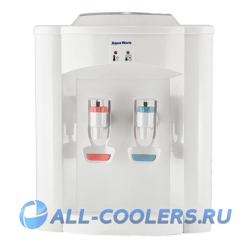 Кулер для воды без охлаждения настольный Aqua Work 720-T