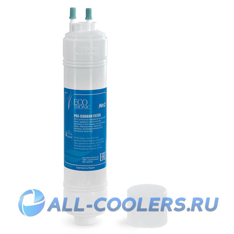 """Фильтр #2 Ecotronic (Waterpia) Pre-carbon 12"""""""