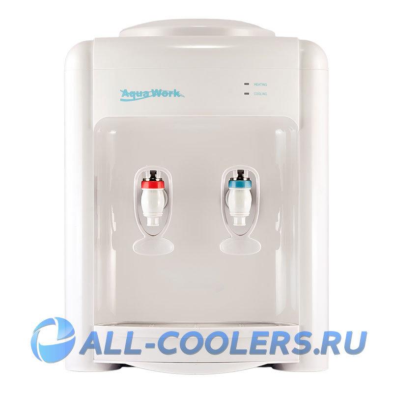 Кулер для воды без охлаждения настольный Aqua Work 36-TKN белый