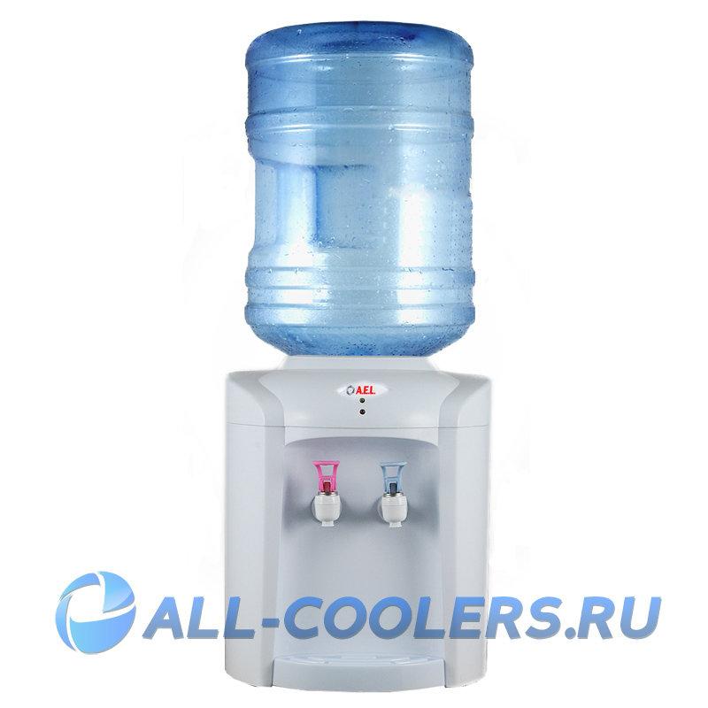 Кулер для воды без охлаждения настольный TK-AEL-110 white