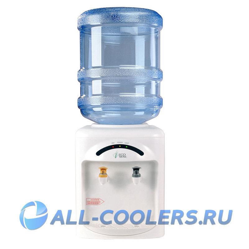 Кулер для воды без охлаждения настольный Ecotronic M2-TN
