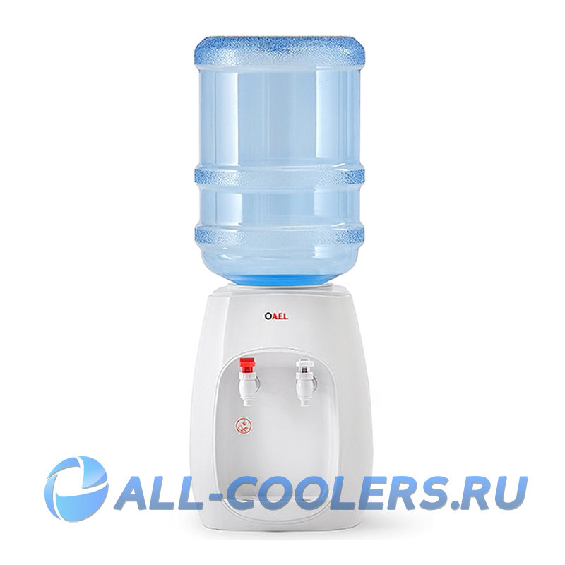 Кулер для воды без охлаждения настольный TK-AEL-108 WHITE